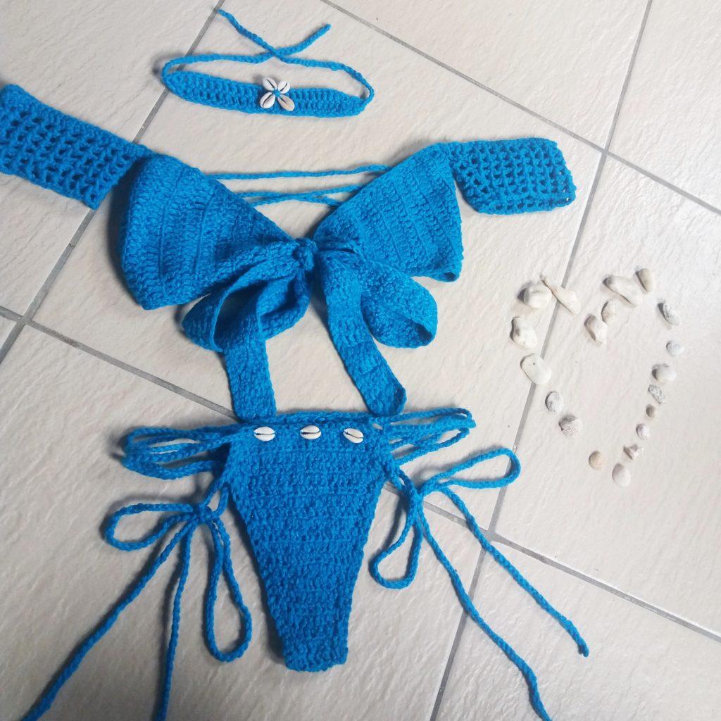 shell queens clochet swimwear